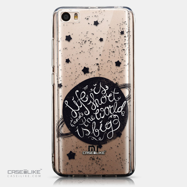 CASEiLIKE Xiaomi Mi 5 back cover Quote 2401
