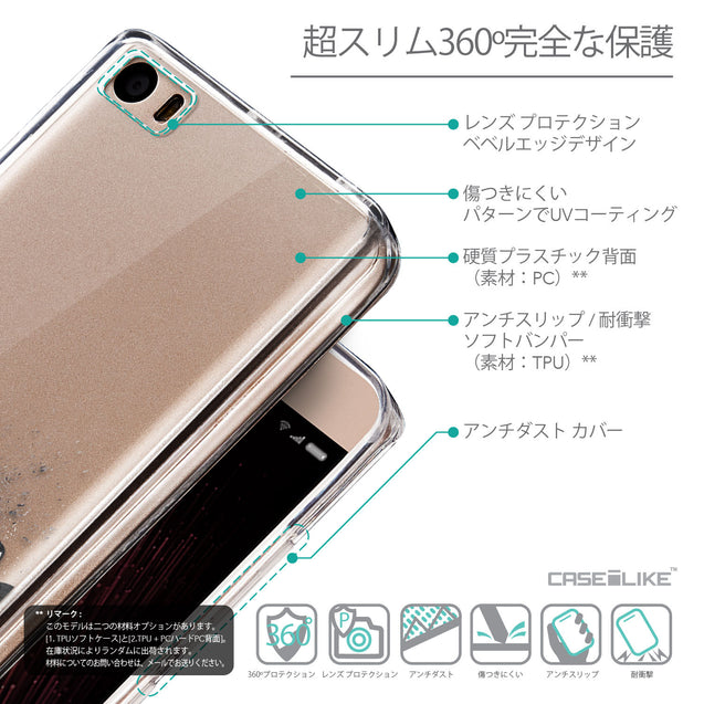 Details in Japanese - CASEiLIKE Xiaomi Mi 5 back cover Quote 2402