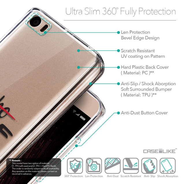 Details in English - CASEiLIKE Xiaomi Mi 5 back cover Quote 2405