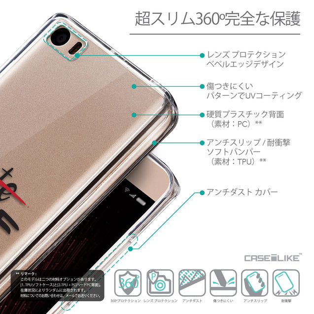 Details in Japanese - CASEiLIKE Xiaomi Mi 5 back cover Quote 2406