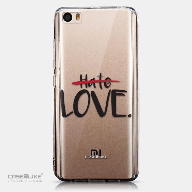 CASEiLIKE Xiaomi Mi 5 back cover Quote 2406