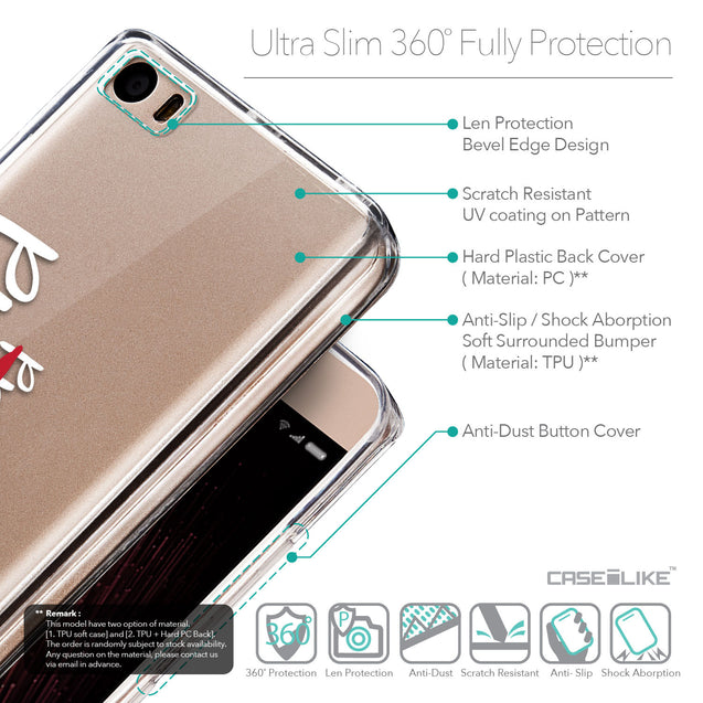 Details in English - CASEiLIKE Xiaomi Mi 5 back cover Quote 2409