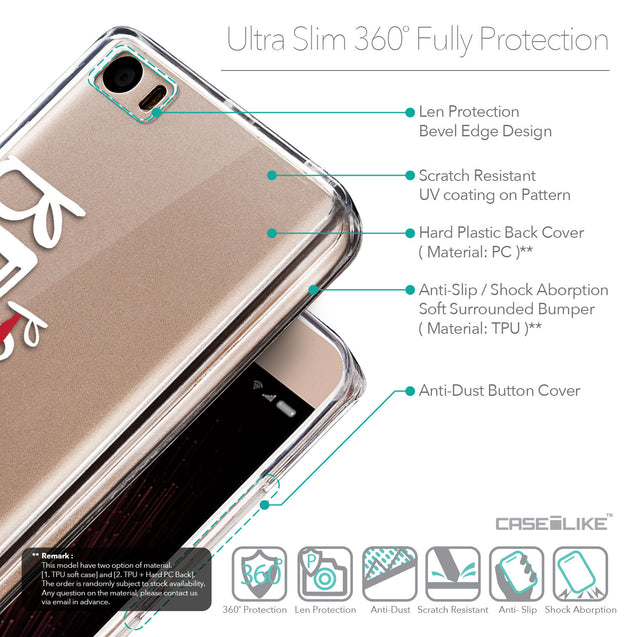 Details in English - CASEiLIKE Xiaomi Mi 5 back cover Quote 2410
