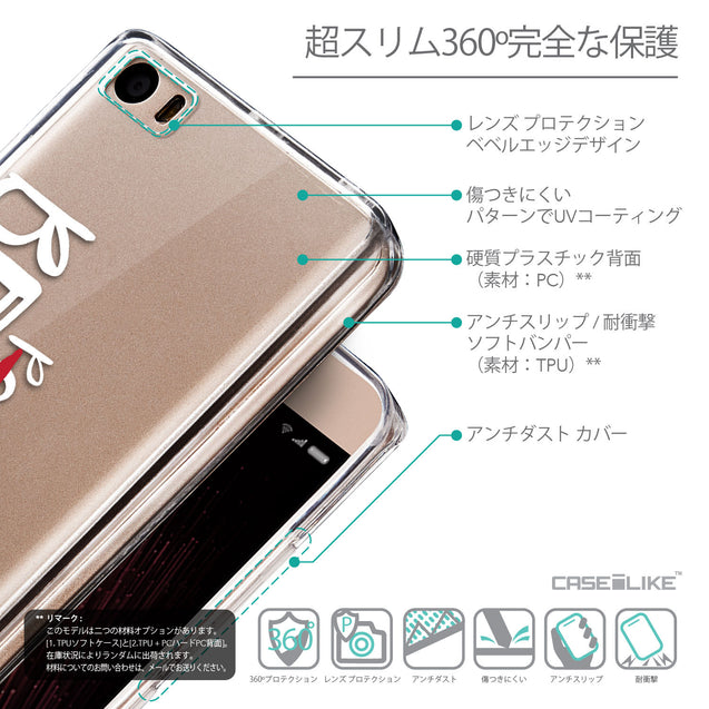 Details in Japanese - CASEiLIKE Xiaomi Mi 5 back cover Quote 2410