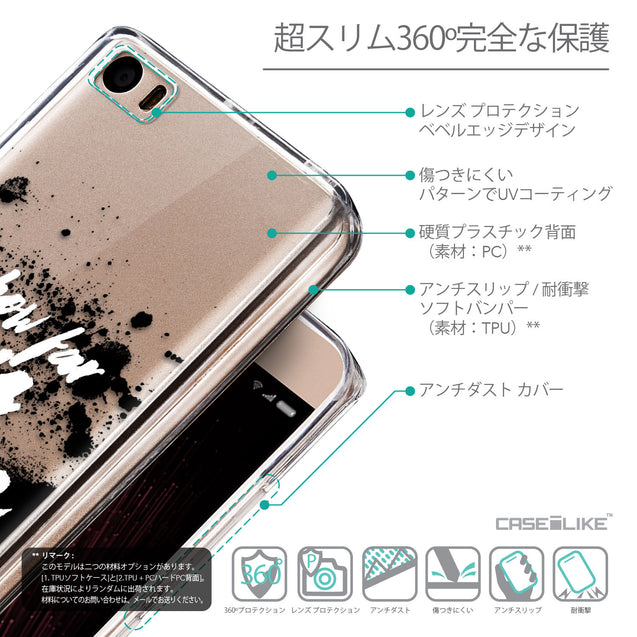 Details in Japanese - CASEiLIKE Xiaomi Mi 5 back cover Quote 2413