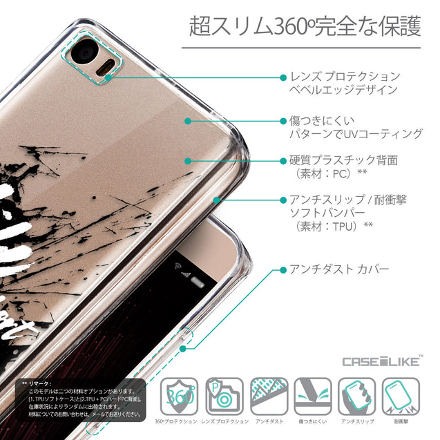 Details in Japanese - CASEiLIKE Xiaomi Mi 5 back cover Quote 2416