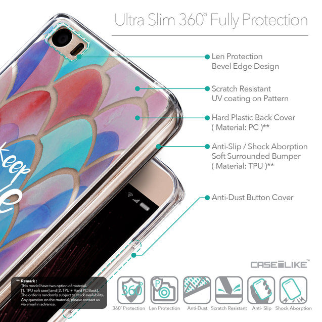 Details in English - CASEiLIKE Xiaomi Mi 5 back cover Quote 2417
