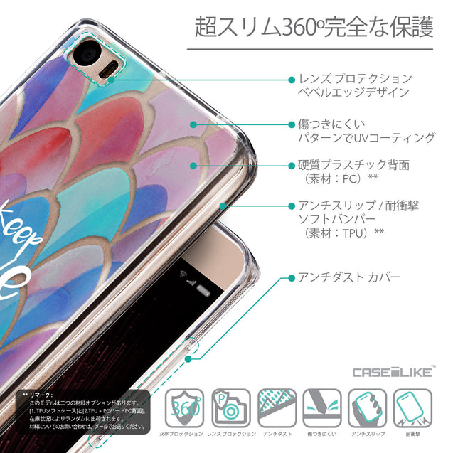 Details in Japanese - CASEiLIKE Xiaomi Mi 5 back cover Quote 2417