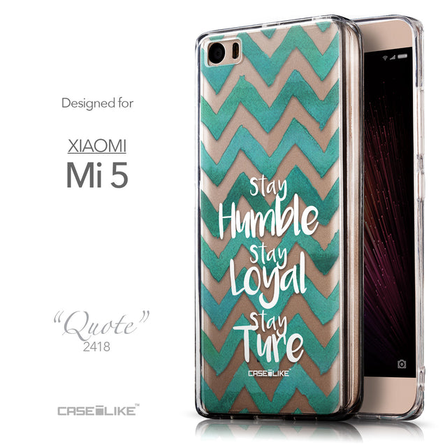 Front & Side View - CASEiLIKE Xiaomi Mi 5 back cover Quote 2418