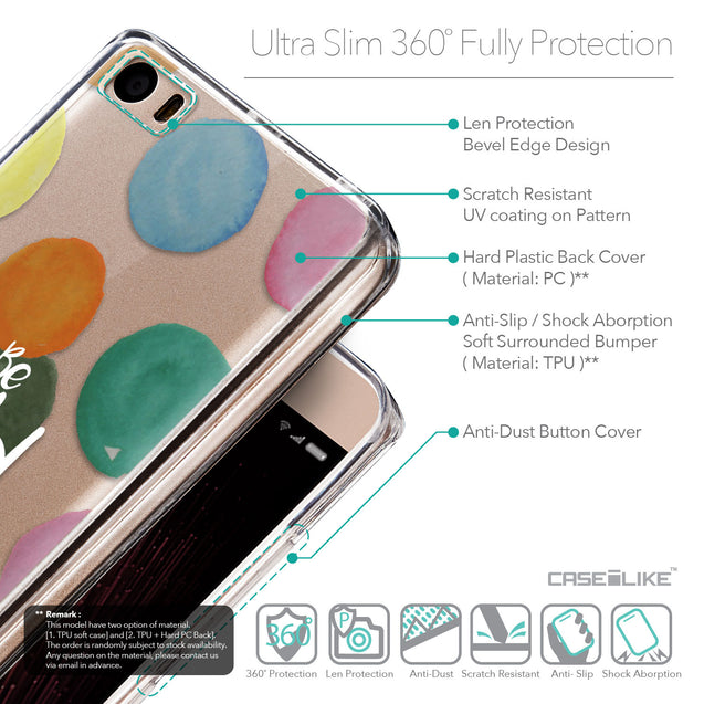 Details in English - CASEiLIKE Xiaomi Mi 5 back cover Quote 2420