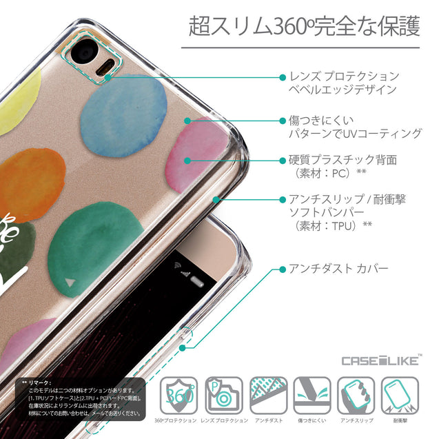 Details in Japanese - CASEiLIKE Xiaomi Mi 5 back cover Quote 2420