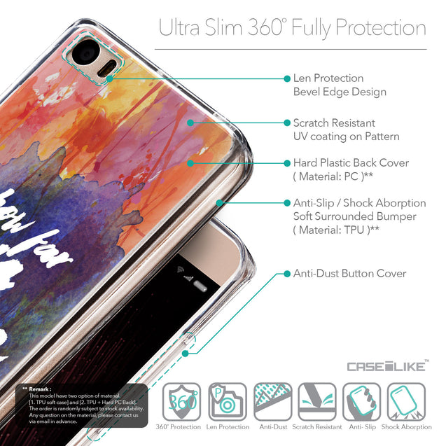 Details in English - CASEiLIKE Xiaomi Mi 5 back cover Quote 2421