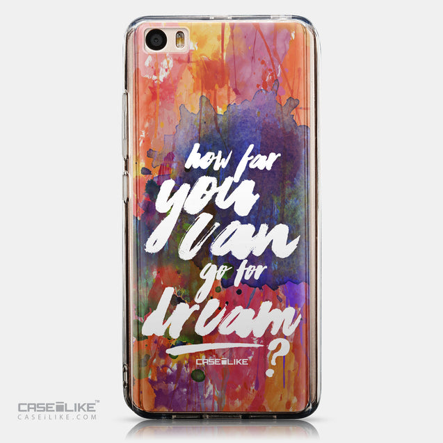 CASEiLIKE Xiaomi Mi 5 back cover Quote 2421