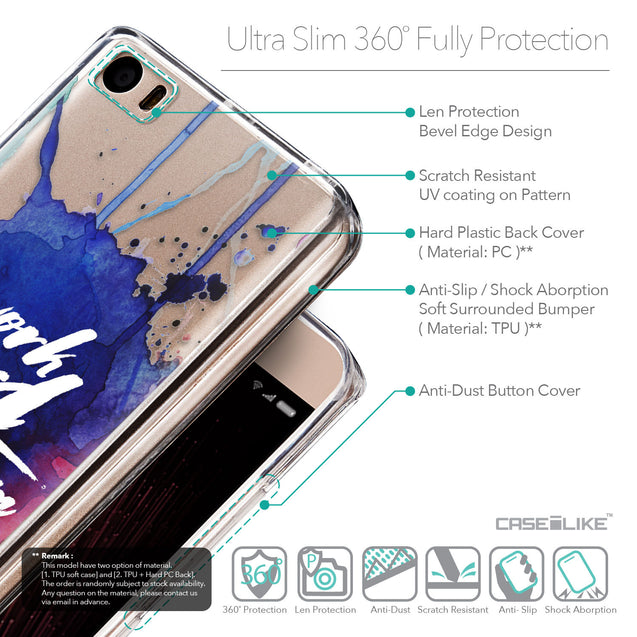 Details in English - CASEiLIKE Xiaomi Mi 5 back cover Quote 2422