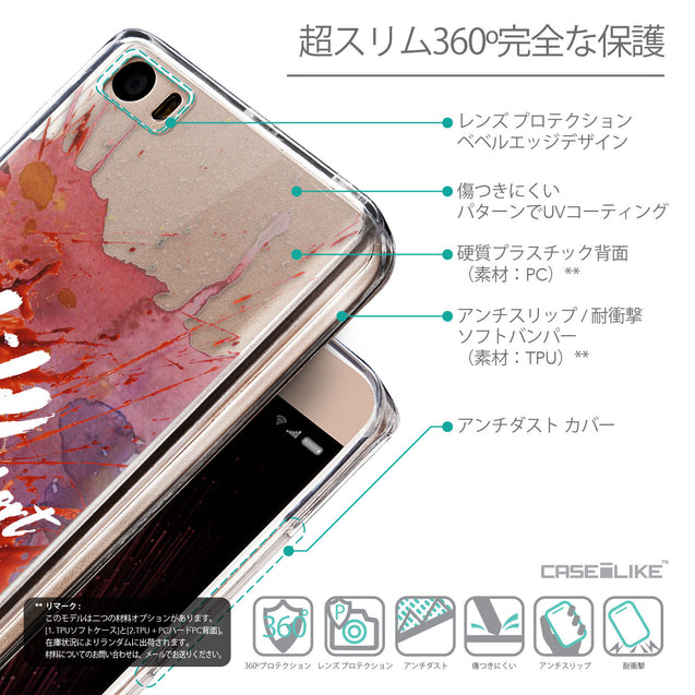 Details in Japanese - CASEiLIKE Xiaomi Mi 5 back cover Quote 2423