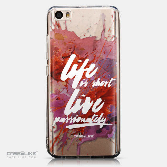 CASEiLIKE Xiaomi Mi 5 back cover Quote 2423