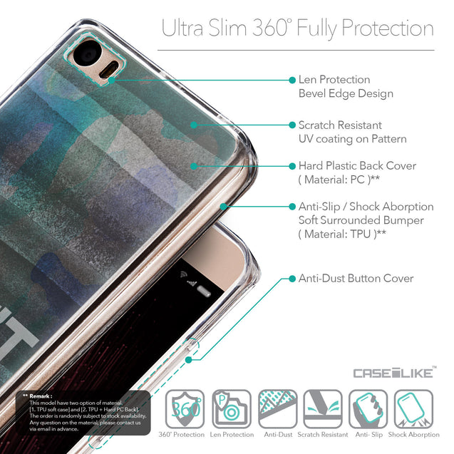 Details in English - CASEiLIKE Xiaomi Mi 5 back cover Quote 2431