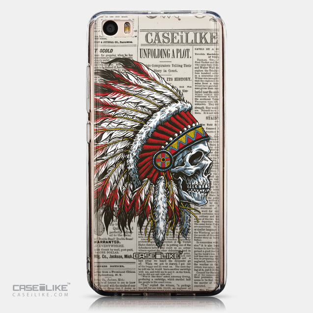 CASEiLIKE Xiaomi Mi 5 back cover Art of Skull 2522