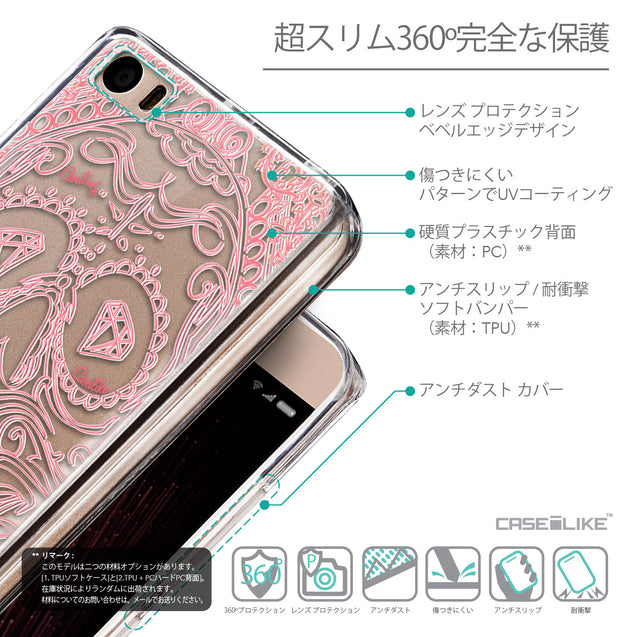 Details in Japanese - CASEiLIKE Xiaomi Mi 5 back cover Art of Skull 2525