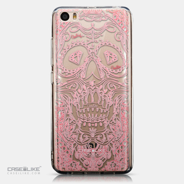 CASEiLIKE Xiaomi Mi 5 back cover Art of Skull 2525