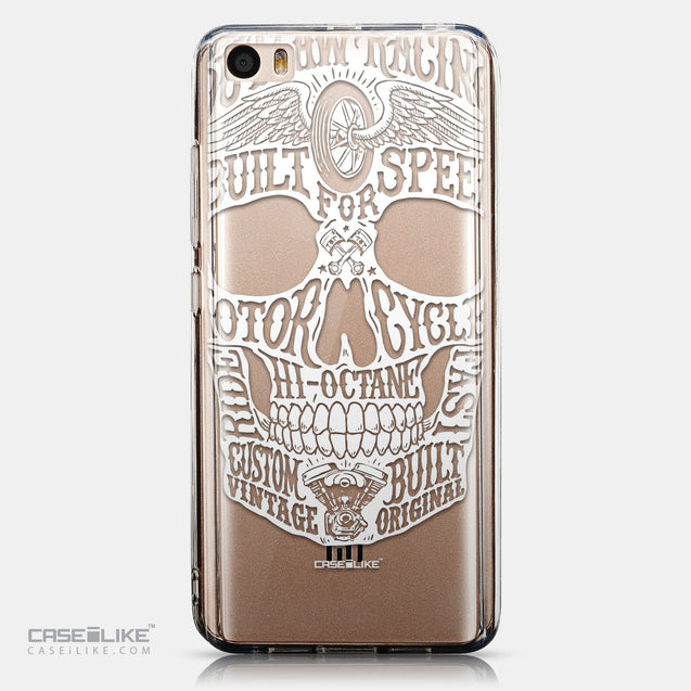 CASEiLIKE Xiaomi Mi 5 back cover Art of Skull 2530