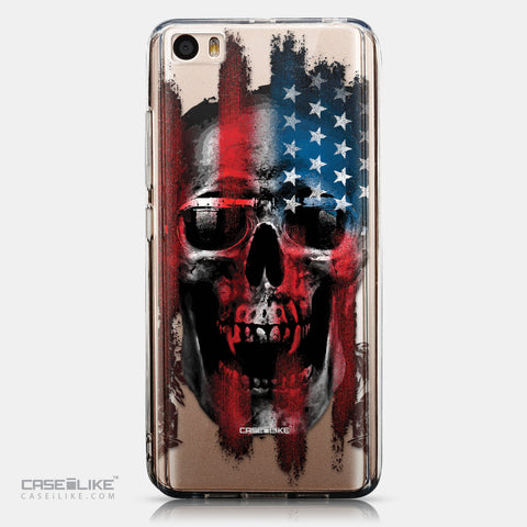CASEiLIKE Xiaomi Mi 5 back cover Art of Skull 2532