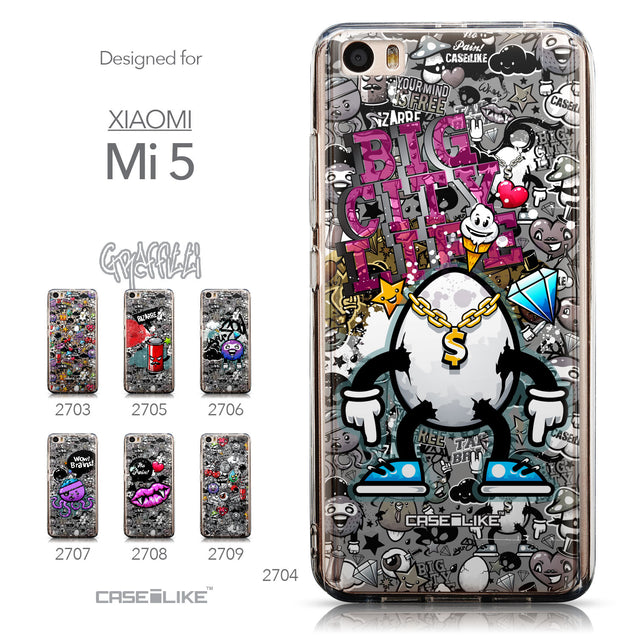 Collection - CASEiLIKE Xiaomi Mi 5 back cover Graffiti 2704