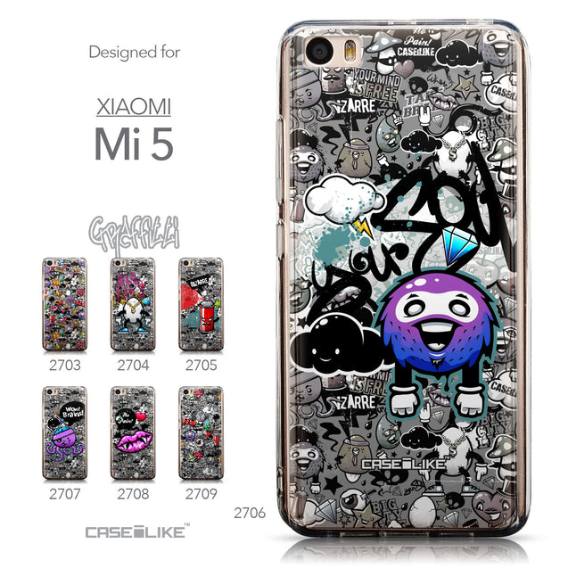 Collection - CASEiLIKE Xiaomi Mi 5 back cover Graffiti 2706