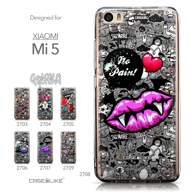 Collection - CASEiLIKE Xiaomi Mi 5 back cover Graffiti 2708