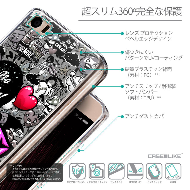 Details in Japanese - CASEiLIKE Xiaomi Mi 5 back cover Graffiti 2708