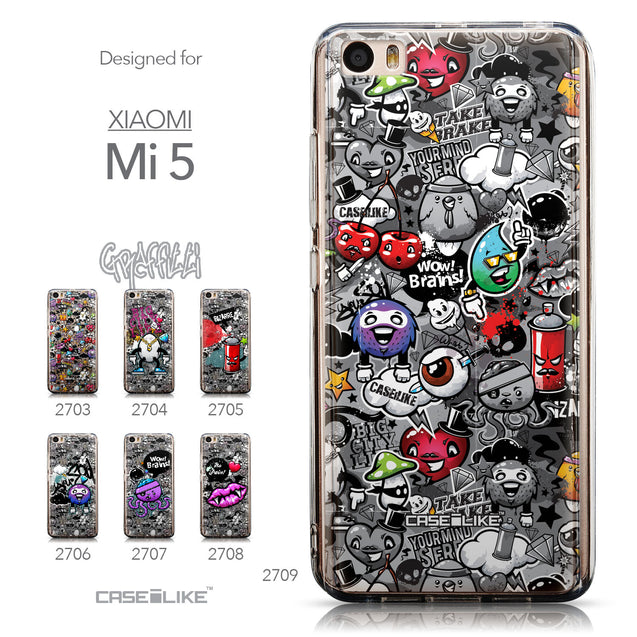 Collection - CASEiLIKE Xiaomi Mi 5 back cover Graffiti 2709