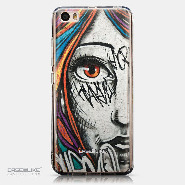 CASEiLIKE Xiaomi Mi 5 back cover Graffiti Girl 2724