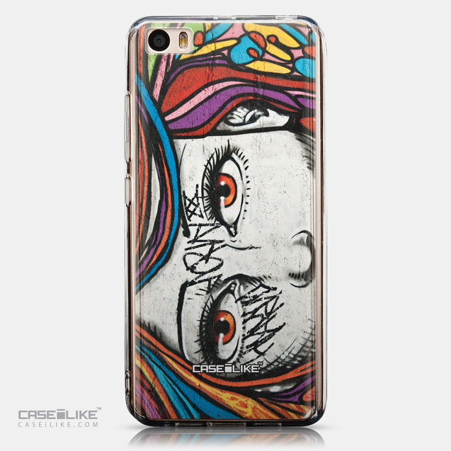 CASEiLIKE Xiaomi Mi 5 back cover Graffiti Girl 2725