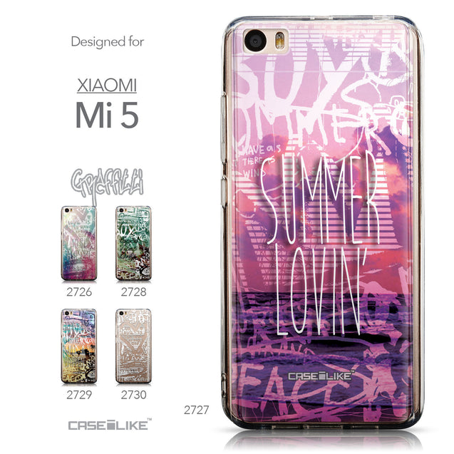 Collection - CASEiLIKE Xiaomi Mi 5 back cover Graffiti 2727