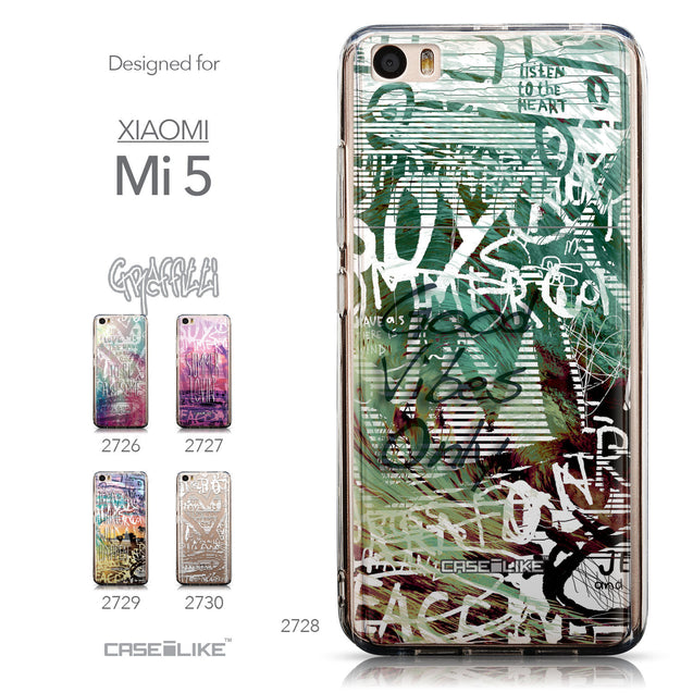 Collection - CASEiLIKE Xiaomi Mi 5 back cover Graffiti 2728