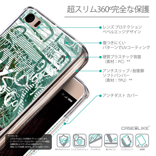 Details in Japanese - CASEiLIKE Xiaomi Mi 5 back cover Graffiti 2728