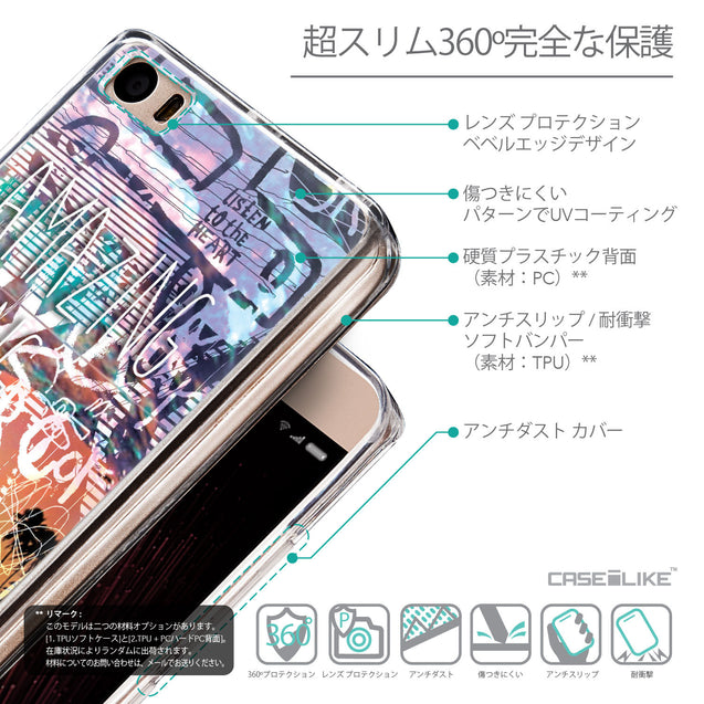 Details in Japanese - CASEiLIKE Xiaomi Mi 5 back cover Graffiti 2729