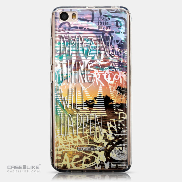 CASEiLIKE Xiaomi Mi 5 back cover Graffiti 2729