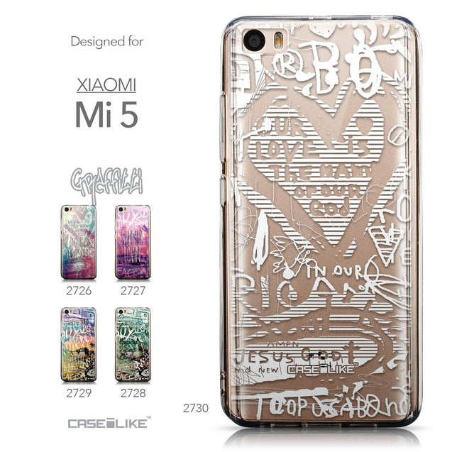 Collection - CASEiLIKE Xiaomi Mi 5 back cover Graffiti 2730