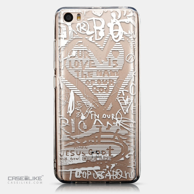 CASEiLIKE Xiaomi Mi 5 back cover Graffiti 2730