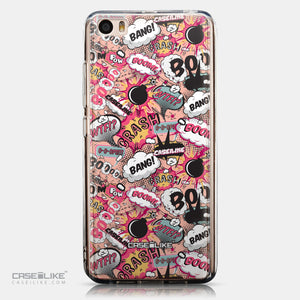 CASEiLIKE Xiaomi Mi 5 back cover Comic Captions Pink 2912
