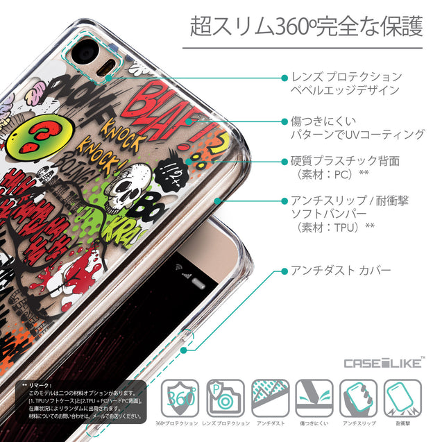 Details in Japanese - CASEiLIKE Xiaomi Mi 5 back cover Comic Captions 2914