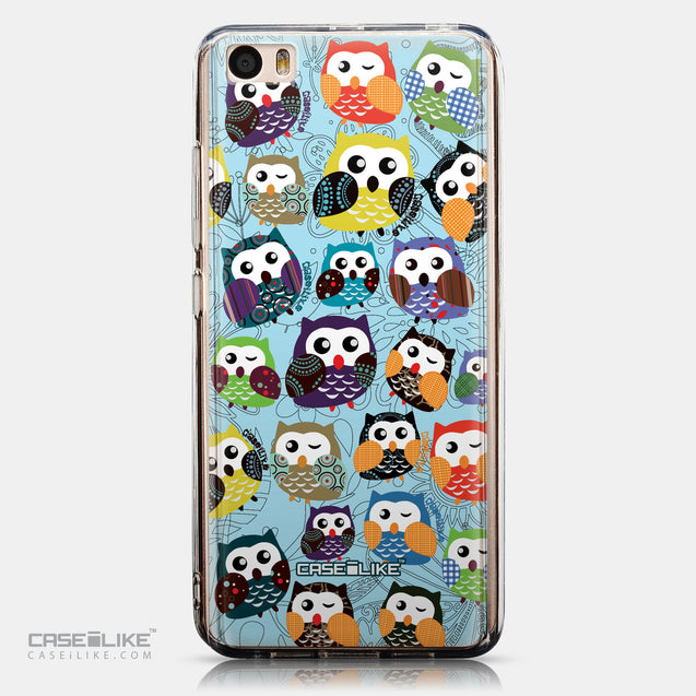 CASEiLIKE Xiaomi Mi 5 back cover Owl Graphic Design 3312