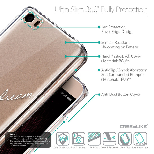 Details in English - CASEiLIKE Xiaomi Mi 5 back cover Owl Graphic Design 3314