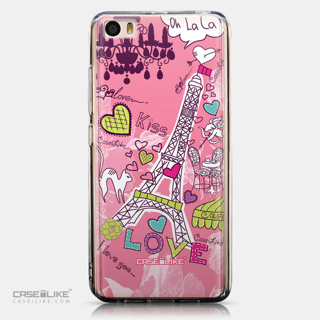 CASEiLIKE Xiaomi Mi 5 back cover Paris Holiday 3905