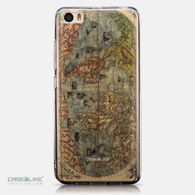 CASEiLIKE Xiaomi Mi 5 back cover World Map Vintage 4608
