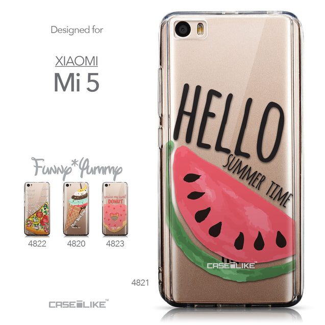 Collection - CASEiLIKE Xiaomi Mi 5 back cover Water Melon 4821
