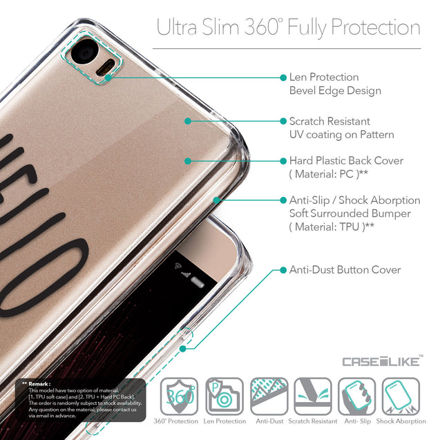 Details in English - CASEiLIKE Xiaomi Mi 5 back cover Water Melon 4821