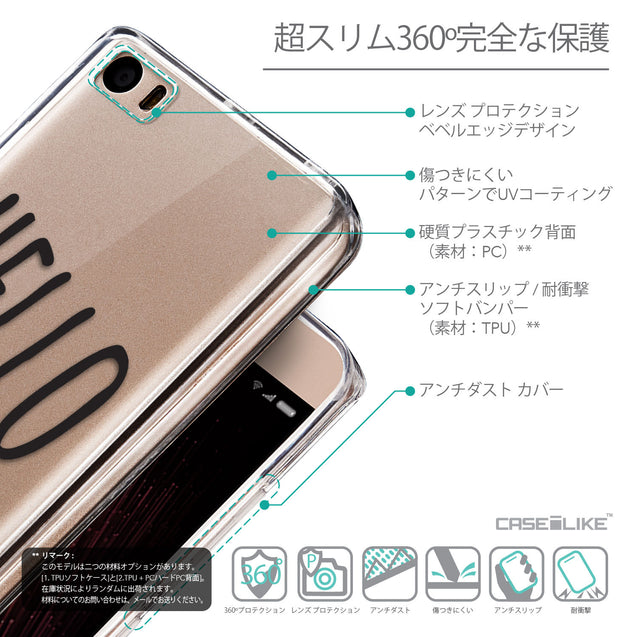 Details in Japanese - CASEiLIKE Xiaomi Mi 5 back cover Water Melon 4821