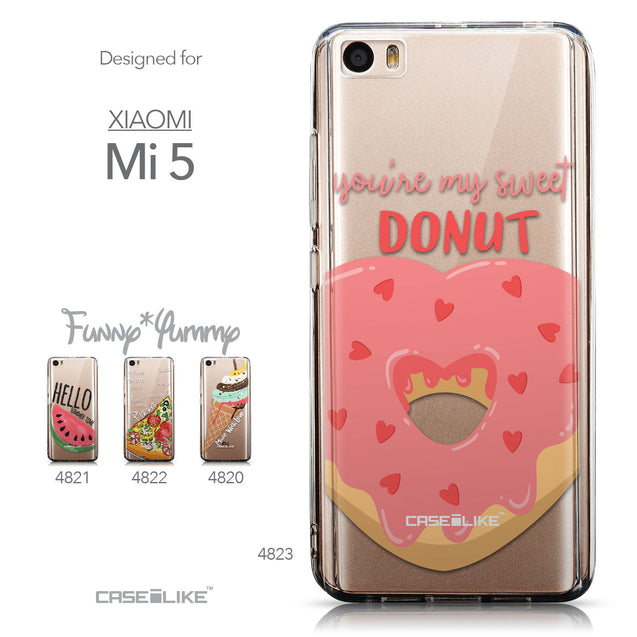 Collection - CASEiLIKE Xiaomi Mi 5 back cover Dounuts 4823